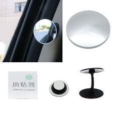 360°Car Blind Spot Side Mirror Stick On Glass Adjustable Safety Lens Accessories
