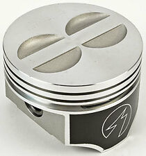 Forged Flattop Pistons 350 Chevy SBC 4.060 Bore .060 Forged Pistons  Set Of 8