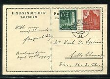 Germany Post Card from Germany to USA 1939. x26230