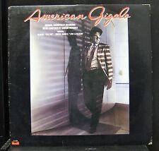Giorgio Moroder - American Gigolo - Soundtrack LP VG+ PD-1-6259 Vinyl Record