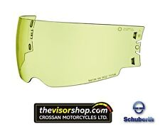 ORIGINALE Schuberth-M1 CASCO MOTO Internal Sun Visor-HI DEF GIALLO