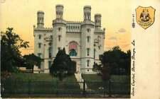 Postcard State Capitol Building, Baton Rouge, Louisiana - circa 1907