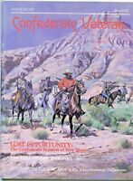 CONFEDERATE VETERAN Civil War MAGAZINE Southern Heritage INVADE NEW MEXICO 5/87