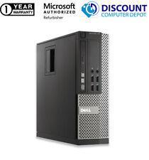 """Dell 990 Core i3 Desktop Computer 16Gb 250Gb 1Tb Hd Windows 10 Pc 19"""" 22"""" Lcd"""