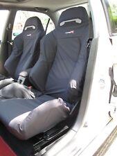 Honda Integra Type R DC5 RECARO Seats Cover Set - 2pcs (Black)