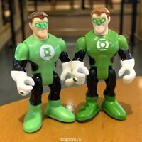 Lot 2 style Fisher-Price Imaginext DC Super Friends   Figures Green Lantern sduk