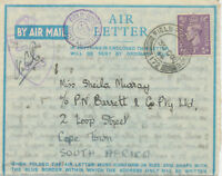 """GB 1944 GVI 3 D Air Letter w CDS double ring """"FIELD POST OFFICE / 172"""" (SYRIA)"""