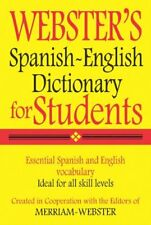 Websters Spanish-English Dictionary for Students (Spanish Edition) by Merriam-W