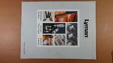 2005 Lyman Shooting Supplies Catalog Rifles Revolvers Scopes Etc