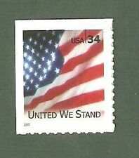 3549 Flag United We Stand Us Single Mint/nh (Free Shipping)