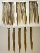 Clip-in Extension HUMAN HAIR-LIKE QLT FIBER 8 PIECE SET