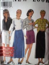 6566 Vintage NEW LOOK SEWING Pattern Misses Skirt 8-18 UNCUT OOP HTF SEW FF