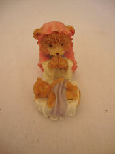 Female Bear Nativity Statue Figurine Holiday Christmas Decor Nautical Baby Jesus