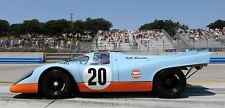 1/10 Porsche Le mans 917 Gulf Group C RC car body only Tamiya HPI Pan 190 200mm