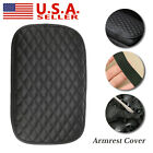 Car Auto Accessories Armrest Cushion Cover Center Console Box Pad Protector USA