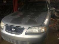 Driver Left Rear Door Vent Glass Fits 00-06 SENTRA 52987