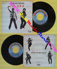 LP 45 7'' JULUKA African ideas African sky blue 1982 italy ARISTON no cd mc dvd