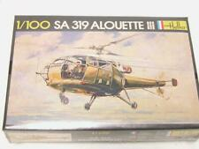 1:100 Heller SA 319 Alouette III Helicopter Plastic Scale Model Kit SEALED 045