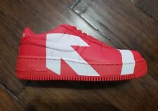 """NIKE WMNS AIR FORCE 1 UPSTEP LX """"UPTOWN"""" Size 9 898421 601 Red"""