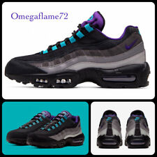 Nike Air Max 95 OG LV8, Black Grape, Sz UK 9, EU 44, US 10, AO2450-002,