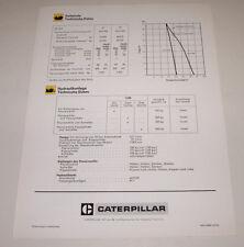 Technische Information Caterpillar Kettendozer D7F / D 7 F
