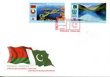 Belarus 2016 FDC National Parks JIS Pakistan 2v Set Cover Nature Stamps