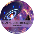 HUGE CIA UFO Files Collection with New 2021 Documents Data DVD PDF Files