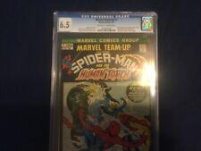 MARVEL TEAM UP 1  6.5 CGC GRADED SPIDER-MAN!