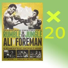 BULK X 20 MUHAMMAD ALI VS GEORGE FOREMAN BOXING RUMBLE IN THE JUNGLE PRINT