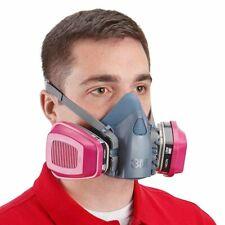 3M 7501 & 2 EA. 60921 P1OO OV Cartridge/Filter, Multi-Purpose Respirator SMALL