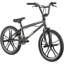 """20"""" Mongoose Mode 270 Mag Boys' Freestyle Bike With 4 Freestyle Pegs Black"""