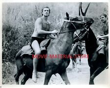 "Jock Mahoney Tarzan's Three Challenges Original 8x10"" Photo #M2646"