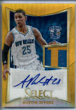 Austin Rivers Gold Patch Auto /10 RC 2012-13 Select Rookie Jersey Prizm RPA SSP