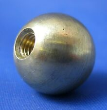 Brass ball finial 14mm x 4mm