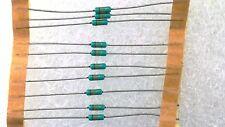 LOT DE 10 RESISTANCES COUCHE METALLIQUE - RC32 - 1/4W 0,25W - 13 kOhms - 5%