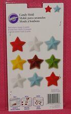 Stars,Bon Bon Chocolate Candy Mold,Wilton,2115-1554,Clear Plastic,Patriotic