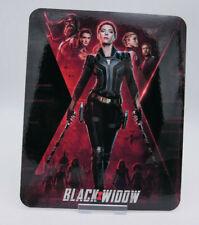 BLACK WIDOW - Glossy Fridge or Bluray Steelbook Magnet Cover (NOT LENTICULAR)