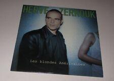 Hervé Zerrouk - les blondes américaines - cd single 2 titres 1998