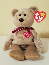 TY ~~1999 SIGNATURE BEAR~~ DON'T MISS ON THIS ONE! CHECK OUT MY OTHER AUCTIONS!!