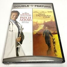 Patch Adams/What Dreams May Come Double Feature (Dvd, 2007, 2-Disc Set) New