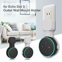 Outlet Wall Mount Holder Bracket for Amazon Echo Dot 3rd Gen Speaker Stand NEW