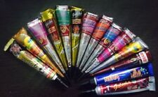 14 Golecha Mix Color Herbal Henna Cones Temporary Tattoo Body Art Mehandi Kit