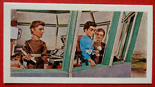 Barratt THUNDERBIRDS 2nd Series Card #9 - Scott Tracy, pilot of Thunderbird 1