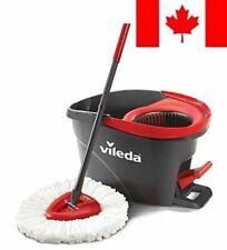 Vileda EasyWring Microfibre Spin Mop & Bucket Floor Cleaning System