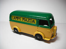 RARE FRENCH DINKY TOYS MECCANO FRANCE #25B PUEGEOT D.3.A. LAMPES MAZDA RESTORED