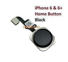 Black Home Button Flex Ribbon Cable Touch ID Sensor Assembly For iPhone 6 6 Plus