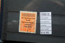 FRANCOBOLLI OCCUPAZIONI LUBIANA USATI USED (F86619)