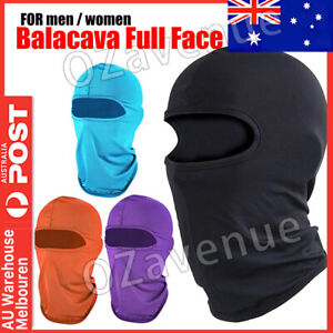 Ski Motorcycle Cycling Balaclava Full Face Mask Winter Scarf Windproof Outdoor