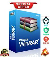 WinRAR/Zip/Unzip/7-zip 5.80🔥 for Window's🖥 LifeTime🔑 100% Clean 🔥official 📩