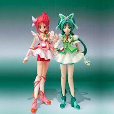 New BANDAI S.H.Figuarts Cure Mint & Cure Rouge set Japan Import F/S